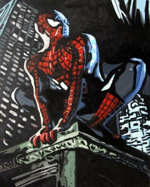 Reproduction oil paintings - Pop Art - Spiderman 3