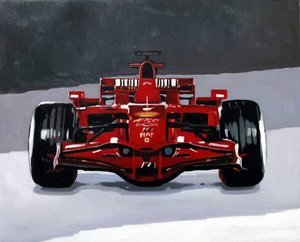 Reproduction oil paintings - Pop Art - Formula 1 Ferrari 2