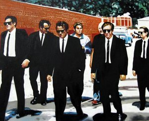 Reproduction oil paintings - Pop Art - Brother Tarantino