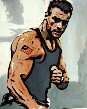 Reproduction oil paintings - Pop Art - Van Damme