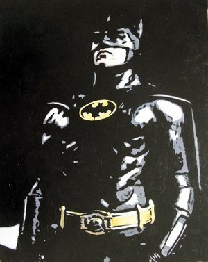 Reproduction oil paintings - Pop Art - Batman