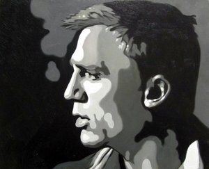 Reproduction oil paintings - Pop Art - Daniel Craig