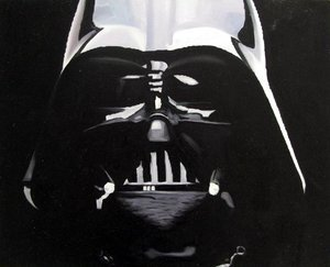 Reproduction oil paintings - Pop Art - Star Wars - Darth Vader