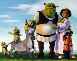 Reproduction oil paintings - Pop Art - Shrek