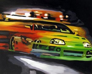 Reproduction oil paintings - Pop Art - 2Fast 2Furious