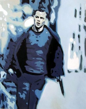 Reproduction oil paintings - Pop Art - Matt Damon