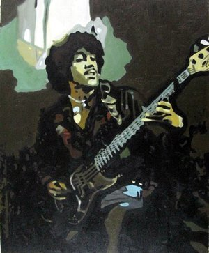 Reproduction oil paintings - Pop Art - Jimi Hendrix 3