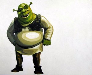 Reproduction oil paintings - Pop Art - Shrek 2