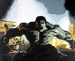 Reproduction oil paintings - Pop Art - The Hulk