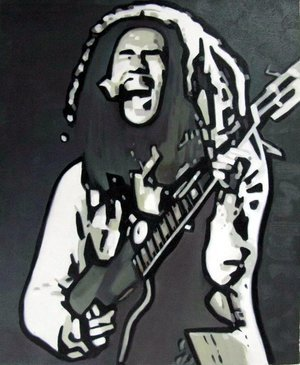 Reproduction oil paintings - Pop Art - Bob Marley 3