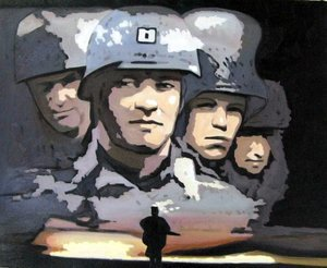 Reproduction oil paintings - Pop Art - Saving Private Ryan