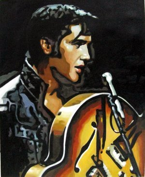 Reproduction oil paintings - Pop Art - Elvis Presley 4