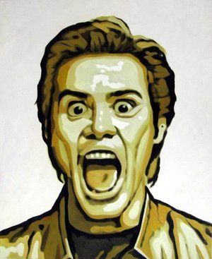 Reproduction oil paintings - Pop Art - Jim Carrey
