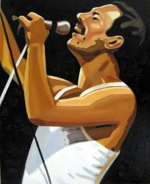 Reproduction oil paintings - Pop Art - Freddy Mercury 2