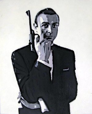 Reproduction oil paintings - Pop Art - James Bond