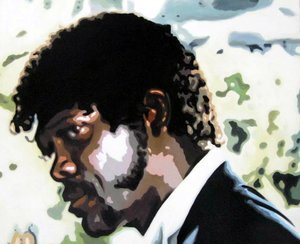 Reproduction oil paintings - Pop Art - Samuel L. Jackson