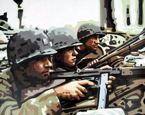 Reproduction oil paintings - Pop Art - Saving Private Ryan 2