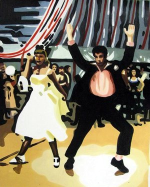 Reproduction oil paintings - Pop Art - Grease