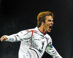 Reproduction oil paintings - Pop Art - David Beckham 2