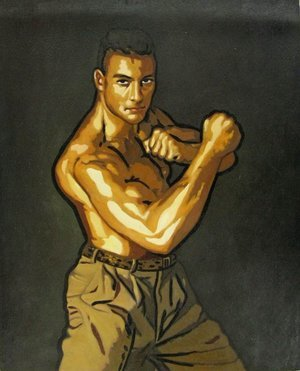 Reproduction oil paintings - Pop Art - Van Damme 2