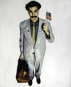 Reproduction oil paintings - Pop Art - Borat