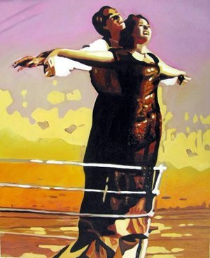 Reproduction oil paintings - Pop Art - Titanic