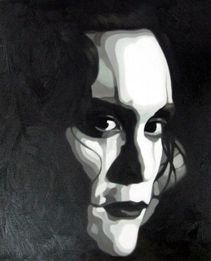 Reproduction oil paintings - Pop Art - The Crow