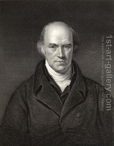 Davies Gilbert President of the Royal Society by (after) Howard, H. - Reproduction Oil Painting