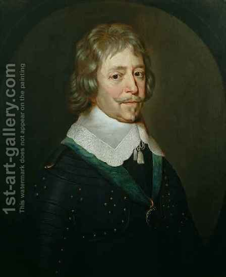 Portrait of Frederick Hendrik 1544-1647 Prince of Orange 1584-1647 by (after) Honthorst, Gerrit van - Reproduction Oil Painting