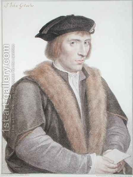 Sir John Godsalve by (after) Holbein the Younger, Hans - Reproduction Oil Painting