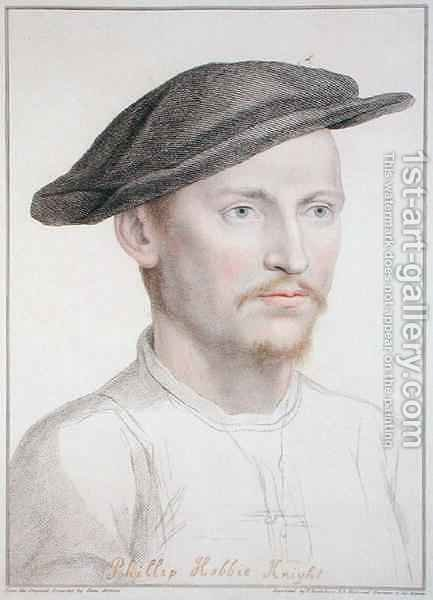 Philip Hobbie by (after) Holbein the Younger, Hans - Reproduction Oil Painting