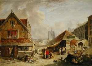 David Hodgson reproductions - The Old Fishmarket Norwich