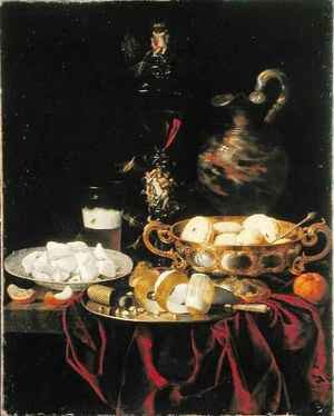 Famous paintings of Desserts: Still Life