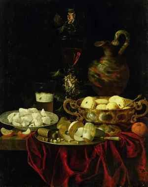 Famous paintings of Desserts: Still Life 3