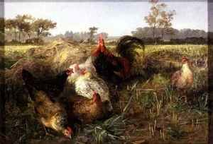 Fowls in the Stubble