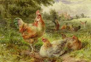 George Hickin reproductions - Cochin China Fowls
