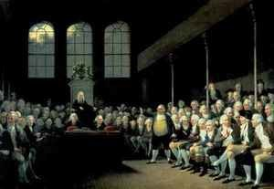 Charles James Fox 1749-1806 Addressing the House of Commons during the Pitt Ministry