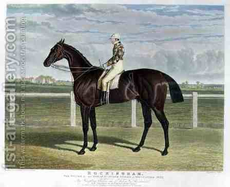 Rockingham the Winner of the Great St Leger Stakes at Doncaster by (after) Herring Snr, John Frederick - Reproduction Oil Painting