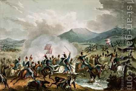 Battle of Morales by (after) Heath, William - Reproduction Oil Painting