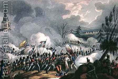 Battle of St Jean de Luz by (after) Heath, William - Reproduction Oil Painting