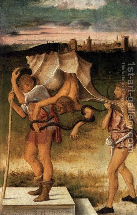 Four Allegories Prudence and Falsehood by Giovanni Bellini - Reproduction Oil Painting