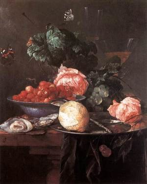 Reproduction oil paintings - Jan Davidsz. De Heem - Still-life with Fruits