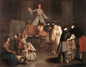 Reproduction oil paintings - Pietro Longhi - The Tooth Puller