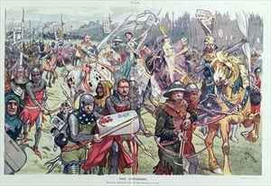 C. Hassman reproductions - The Crusaders Marching Embattled Gainst the Saracens of Graft