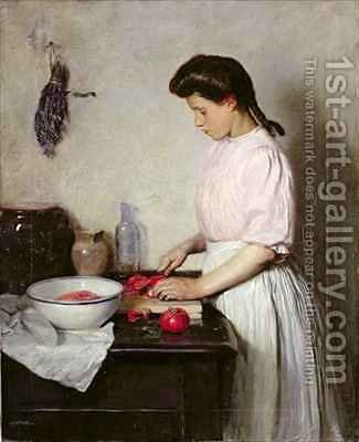 Preparations by Herbert Johnson Harvey - Reproduction Oil Painting