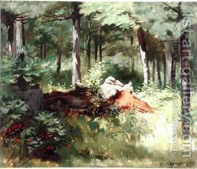 Robert Harris: Woodland - reproduction oil painting