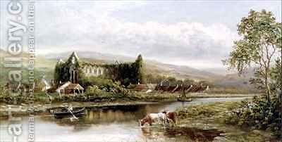Tintern Abbey by Henry Harris - Reproduction Oil Painting