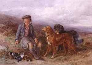 Reproduction oil paintings - James Hardy Jnr - The Young Ghillie