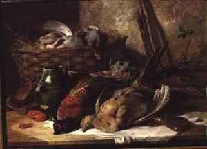 Reproduction oil paintings - James Hardy Jnr - Still Life with Game Birds