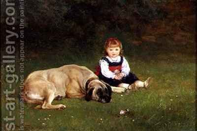 Best Friends by Heywood Hardy - Reproduction Oil Painting